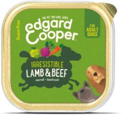 Edgard-Cooper Edgard&Cooper Kuipje Lamb Beef Adult 150 g - Hondenvoer - Lam&Rund&Wortel Graanvrij