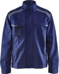 Blåkläder 4054-1800 Industriejack Ongevoerd Marineblauw/Grijs maat L