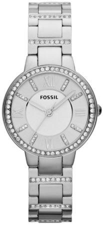 Afbeelding van Fossil Virginia ES3282 - Horloge - 26 mm - Staal - Zilverkleurig