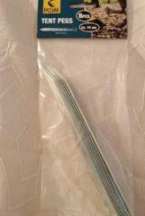 Grijze Merkloos / Sans marque Tentharingen 16 stuks 18 cm