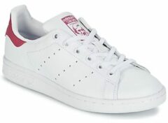 Roze Adidas Stan Smith Sneakers - Ftwr White/Bold Pink - Maat 35.5