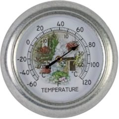 Talen Tools Thermometer analoog rond 25 cm