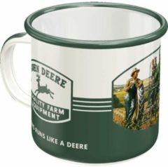Groene Nostalgic Art Merchandising Beker John Deere Farm