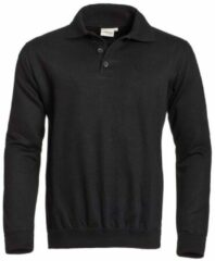 Zwarte Spiro bikewear full zip top, Kleur Black, Maat XL