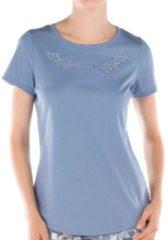 Shirt kurzarm Calida glaucous blue