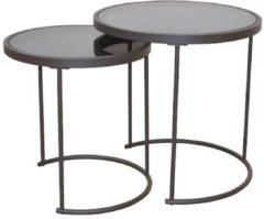 Möbel direkt online Moebel direkt online Beistelltische 2-Satz-Beistelltische Metalltische Glastische 2 Tische