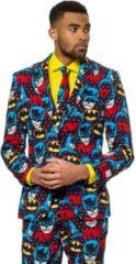 Zwarte Batman OppoSuits The Dark Knight - Heren Kostuum - Maat 52
