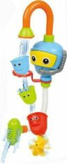 Lichtblauwe Bath Fun Robot Fontein - Waterspray