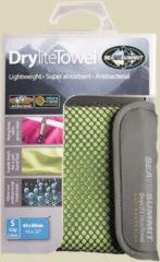 Sea to Summit Drylite Towel Mikrofaser Handtuch Größe S Lime