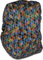 Dripdropbag Regenhoes Spring Voor Rugzak 50 X 40 X 20 Cm Multicolor