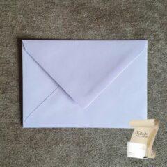 Merkloos / Sans marque Luxe lila C6 Envelop (114 x 162 mm) - 120 grams gegomd - 250 stuks