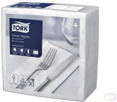 Servetten Tork 477554 Dinner 2laags 39x39cm wit 150st.