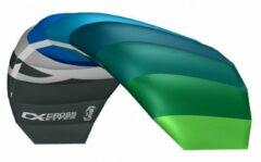 Cross Kites CrossKites Air 1.2 (2 lijns + straps) Blauw- Groen