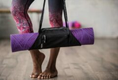 Gaiam On The Go Yogamat Tas - Granite / Storm
