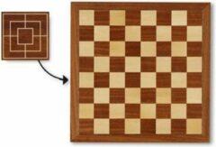 Dal Negro Schaakbord Met Rand 40 X 40 Cm Hout Bruin/beige