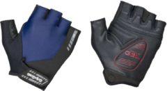 Marineblauwe GripGrab Progel handschoenen (korte vingers) - Handschoenen