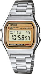 Zilveren Casio Collection A158WEA-9EF - Horloge - Staal - Zilverkleurig - Ø 33.2 mm