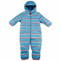 Ducksday - Kids Baby Snow Suit - Overall maat 68, blauw/turkoois