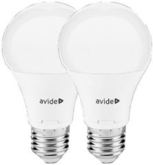 Avide LED Globe Twin Pack A60 12W E27 240° WW 3000K