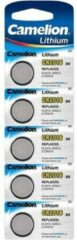 5x Lithium Knoopcel Batterijen Cr1616 3v Camelion - Platte Batterijen 5x Stuks