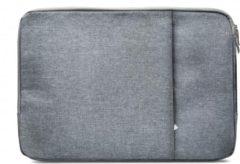 Grijze Xccess Laptop Sleeve 13inch Grey