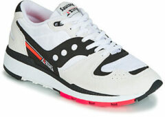 Saucony - Unisex Sneakers Azura White/Black/Red - Wit - Maat 42 1/2