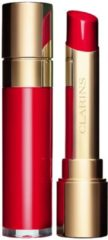 Rode Clarins Joli Rouge Lacquer Lipstick 3 gr