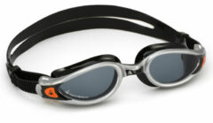 Aqua Sphere Kaiman EXO - Zwembril - Volwassenen - Dark Lens - Zilver/Zwart