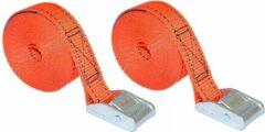 Benson Spanband - Spanbanden - Oranje - 2,5 m - 2 Stuks