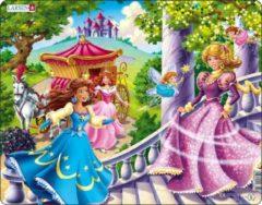 Larsen legpuzzel Maxi Prinsessen 24 stukjes