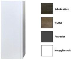 Kolomkast Sanicare Q7 Soft-Close Deur Greeploos 90x33,5x32 cm Truffel