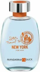 Mandarina Duck Let's Travel To New York Man Eau De Toilette Spray 100ml