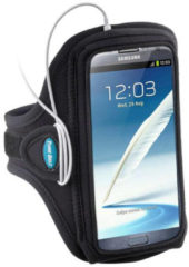 Zwarte Tune Belt AB88 XXL Sport Armband voor Galaxy Note I & II