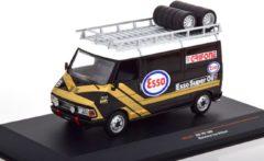 Gouden Fiat 242 Service Car Esso Grifone 1986 1-43 Ixo Models
