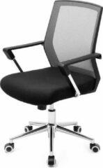 MIRA Home - Bureaustoel voor volwassen - Stoel - Basic - Polyester - Zwart - 60.6x55.8x31