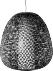 Bruine Ay Illuminate - Twiggy Egg - Hanglamp - Bamboe - Naturel - Ø60 H:60