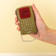 Kikkerland Huckleberry Morse Code zaklamp - Inclusief rode en groene filter