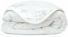 Snoozing Rhodos - Katoenen - Kinderdekbed - Junior - 120x150 cm - Wit