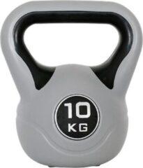 Grijze Kaytan Kettlebell 10 kg - Gymstick - Fitness - Krachttraining - Halters en Gewichten