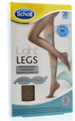 Scholl Light Legs 20 Denier Beige - Maat M - Panty