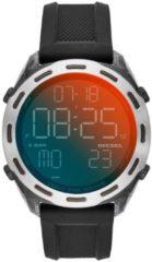 Diesel DZ1893 Horloge Crusher siliconen-nylon smoke-zwart 46 mm