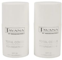 TAVANA Total Cover Foundation 2er Set Farbe 01
