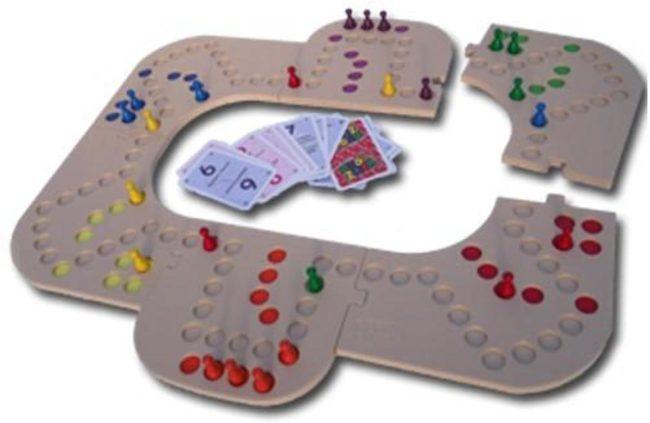 Afbeelding van Keezbord 4-6 Personen Kunststof - Keezen bordspel