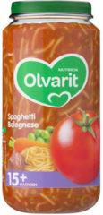 Olvarit Spaghetti Bolognese 15+ Maanden (1 Potje van 250g)
