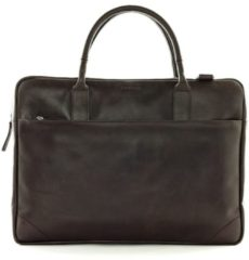 Royal RepubliQ Crossbodytas Explorer Laptop Bag Single 17 Inch Bruin