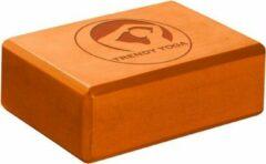 Trendy Sport Yoga blok - Yogablok - Yoga Block - 23 cm lang - 15 cm breed - 7.5 cm dik - Oranje
