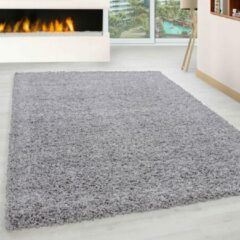 Licht-grijze Carpetenmeer.nl Life - Vloerkleed - Lichtgrijs - Ø 160cm Rond