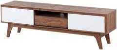 Bruine Beliani Eerie Tv-meubel Mdf 35 X 149 Cm