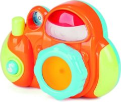 Miniland Speelgoedcamera Minicam Junior 14 Cm Oranje/groen