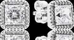 Zilveren Pandora Oorknopjes tijdloze elegantie 290591CZ